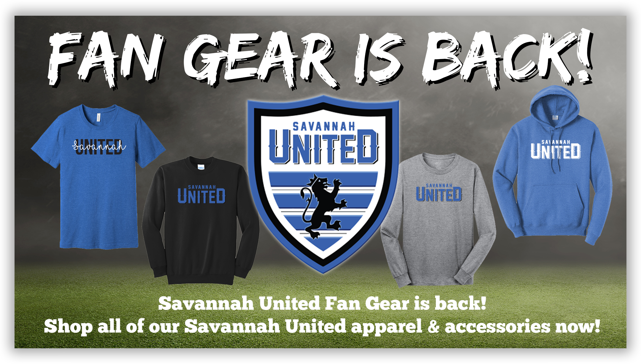 Savannah United Fan Gear