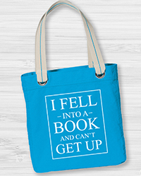 I Fell Into A Book <br> Tote Bag